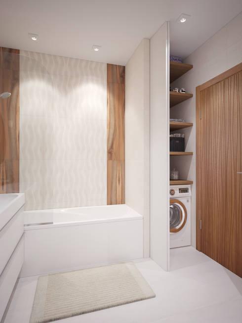 6 idee n om je wasmachine uit het zicht in je badkamer te plaatsen - Klein badkamer model ...