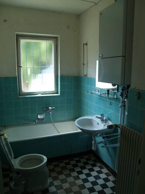 Gef hlvolle sanierung eines 50er jahre hauses - Badezimmer 50er ...