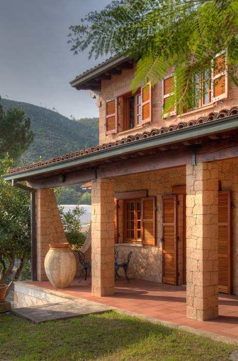 15 ideas de entradas r sticas y sensacionales for Fachadas de terrazas rusticas