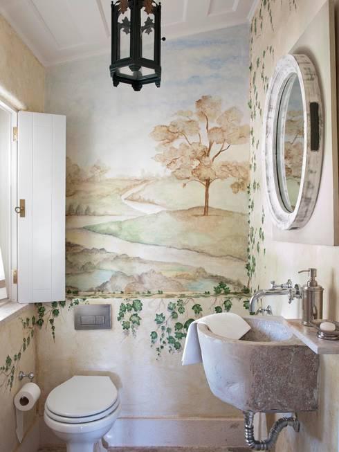 SA&V - SAARANHA&VASCONCELOS: kırsal tarz tarz Banyo