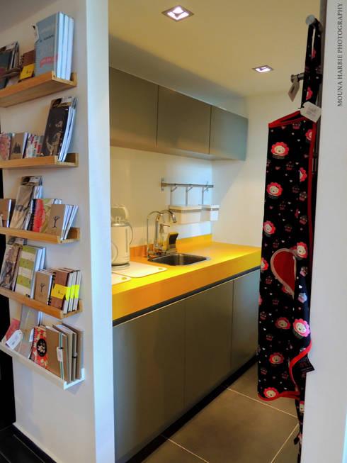 Handgrepen Keuken Industrieel : kantoren-winkels.industrieel Kantoren & winkels door RL+N Arquitectura