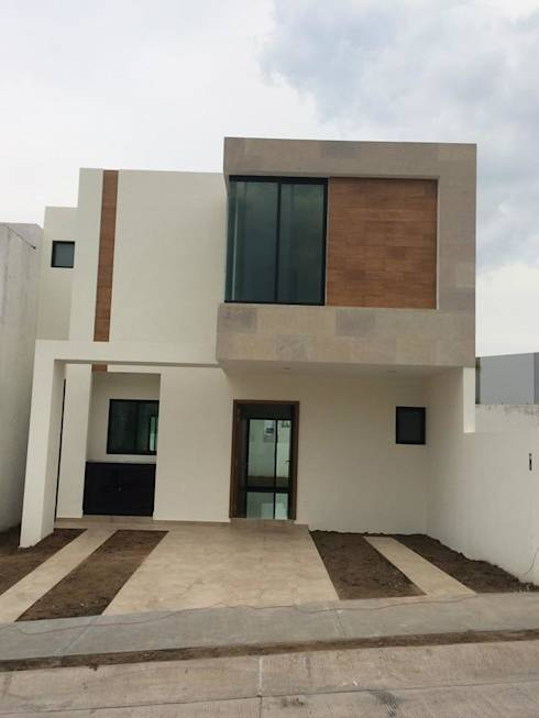 10 fachadas de casas peque as por 10 arquitectos mexicanos for Casa de diseno guadalajara