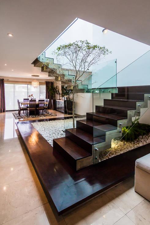 Con tanto subir y bajar c mo renovar escaleras de madera for Casa moderna tipo loft