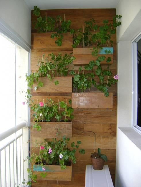 20 ideas super creativas para usar madera en el patio o jard n for Astillas de madera para jardin