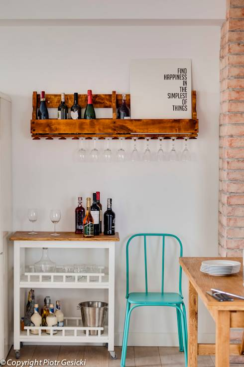 Portfolio: styl translation missing: pl.style.kuchnia.eklektyczny, w kategorii Kuchnia zaprojektowany przez Loft Factory