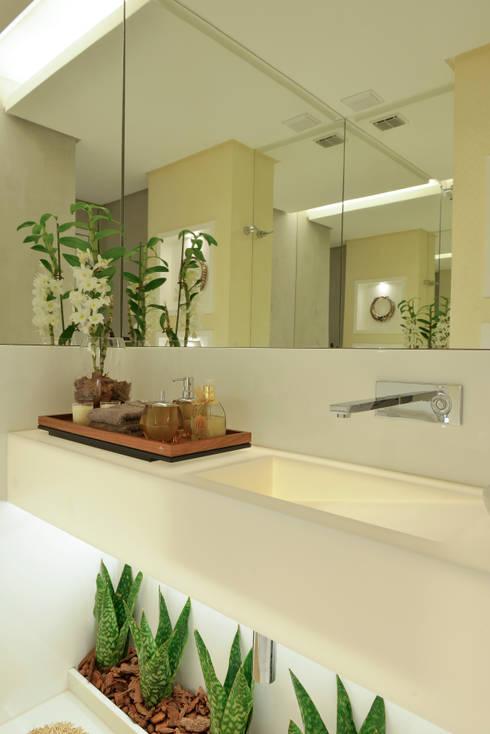 50 grandes ideias para decorar banheiros pequenos - Amueblar piso pequeno barato ...