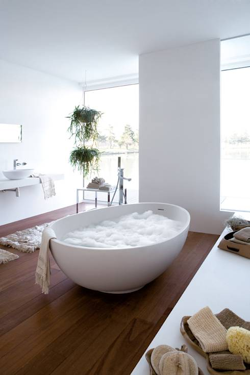 Banheiro translation missing: br.style.banheiro.moderno por Mastella Design
