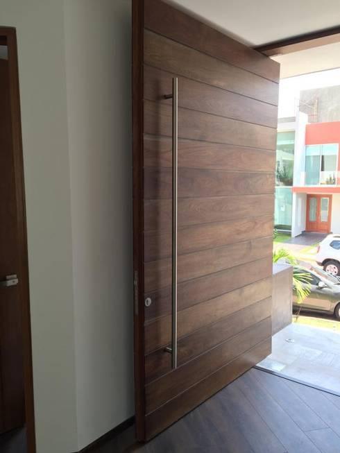 14 portes pour moderniser instantan ment votre entr e. Black Bedroom Furniture Sets. Home Design Ideas