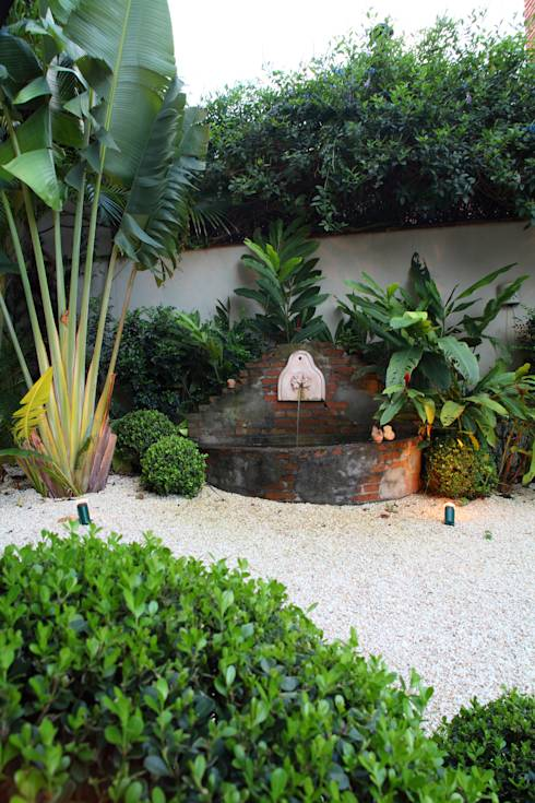 Jardines de estilo topical por Studio 262 - arquitetura interiores paisagismo