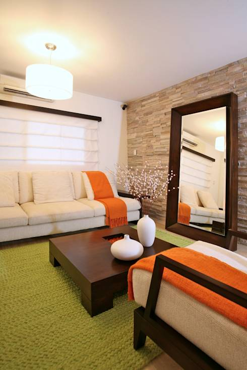 Salones de estilo moderno de Objetos DAC