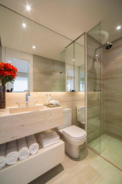 Un appartamento di 35m tanto stile in poco spazio - Creare un bagno in poco spazio ...