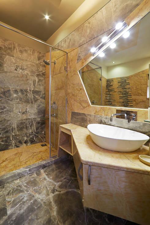 Baños de estilo translation missing: mx.style.baños.moderno por Square 9 Designs