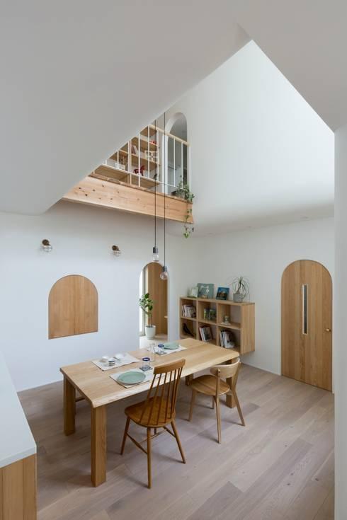 scandinavian Dining room by ALTS DESIGN OFFICE
