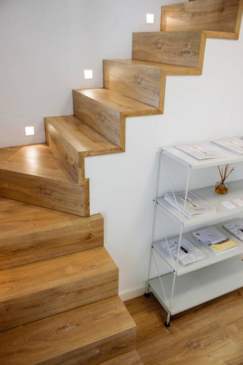 Escaleras 15 ideas geniales para casas con poco espacio for Escaleras internas de casa