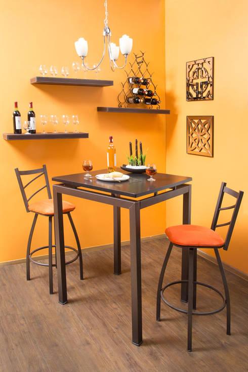 bar : Comedor de estilo translation missing: mx.style.comedor.eclectico por Idea Interior