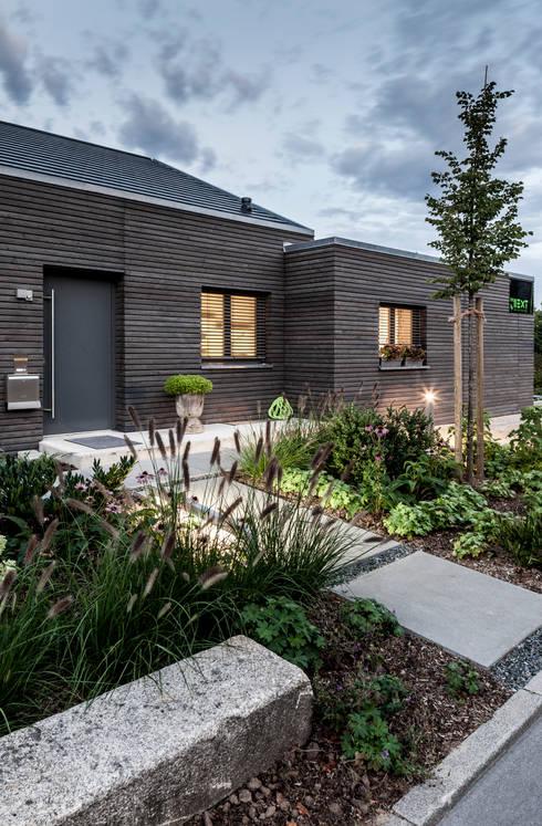 Vorher nachher vom kleinen bungalow zum modernen knaller for Architekten bungalow modern