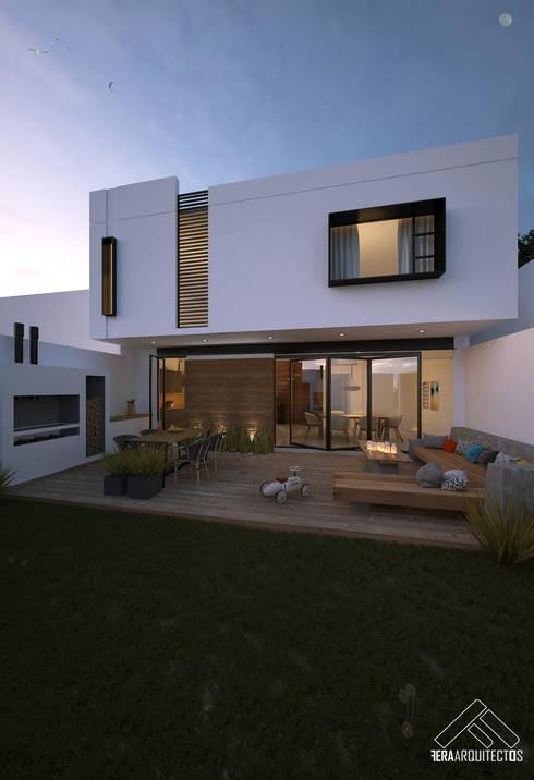 25 terrazas modernas y abiertas al jard n que te van a for Terrazas modernas en cemento