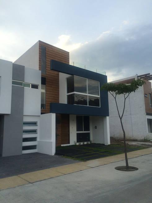 32 fachadas de casas de dos pisos que debes ver antes de - Revestimientos de fachadas precios ...