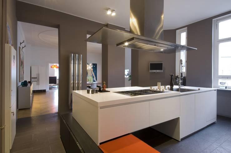 Bunte Küchenfronten