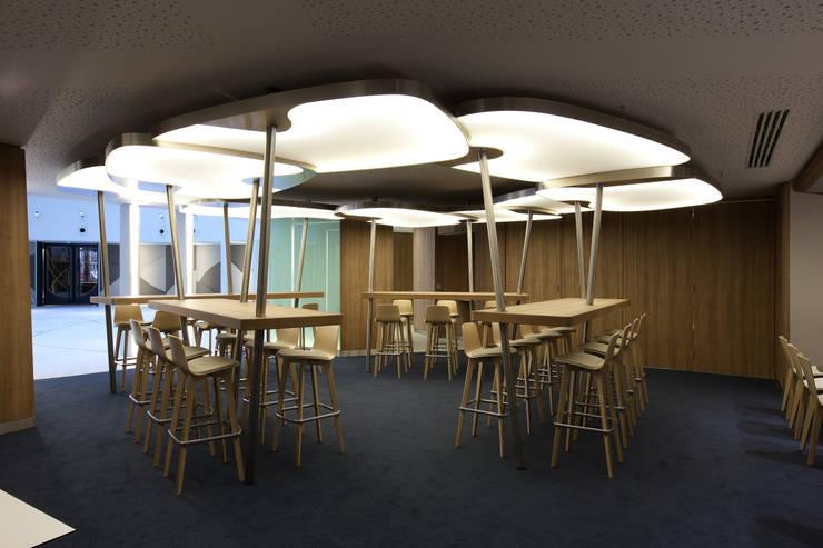r habilitation d 39 un immeuble de bureaux 1 rue euler 75008 paris par bouchaud architectes homify. Black Bedroom Furniture Sets. Home Design Ideas