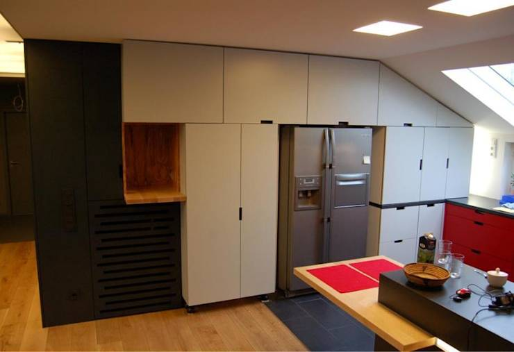kleine k che kein problem. Black Bedroom Furniture Sets. Home Design Ideas