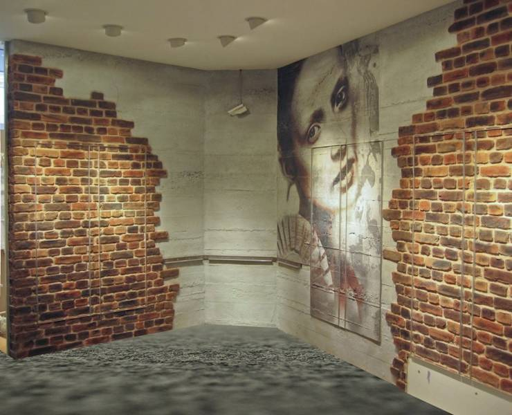 La parete in mattoni a vista come renderla perfetta - Steinoptik farbe ...