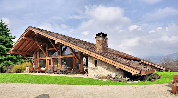 10 rustic houses that will make your heart beat faster