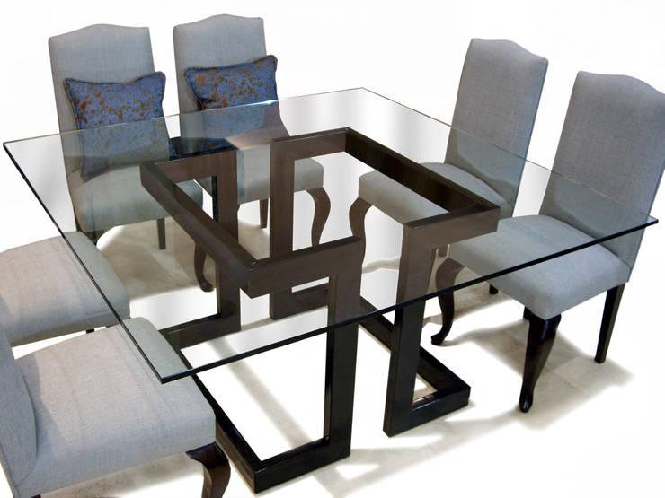 L nea alto dise o mesas de comedor de gonzalo de salas for Mesas cuadradas para comedor
