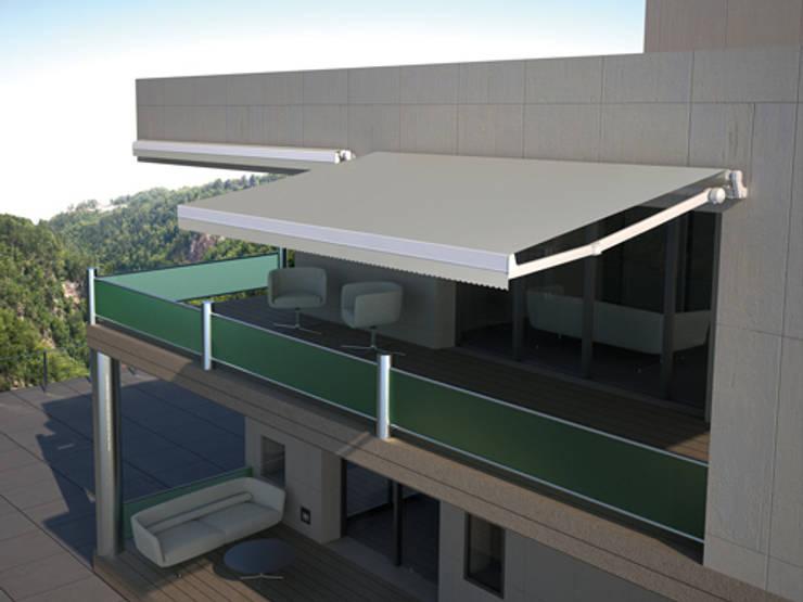 9 cubiertas y toldos para nuestras terrazas y jardines - Toldos brazos extensibles ...