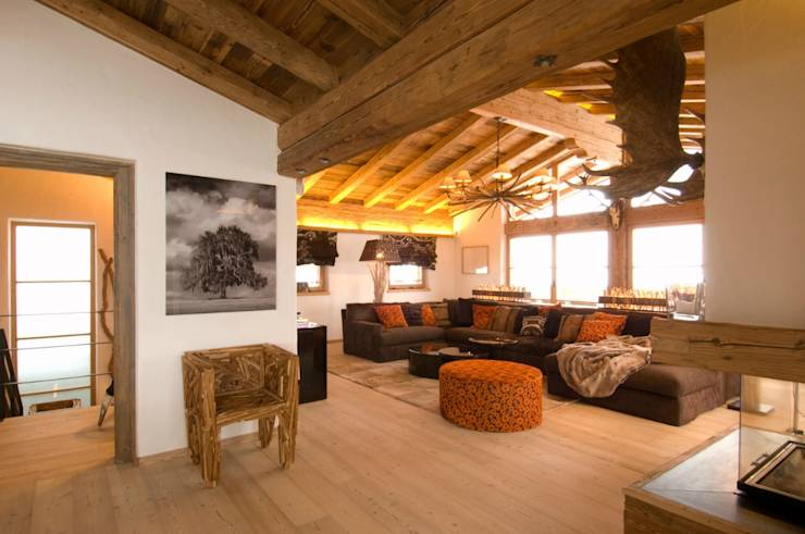 Lo chalet l appartamento e la baita 3 esempi di casa di for Piani di casa in stile country di collina