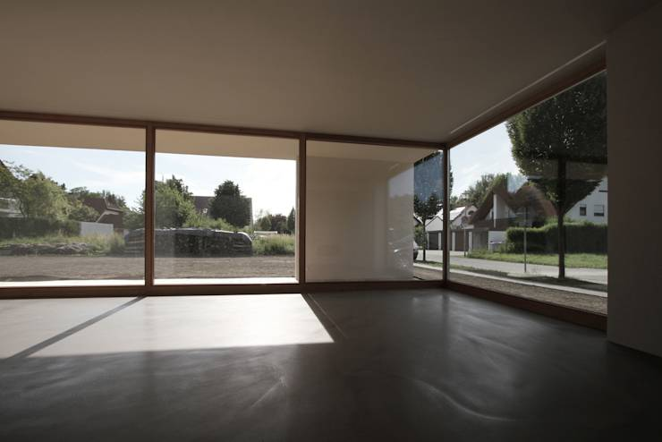 Haus 1 ingolstadt von architekturb ro axel baudendistel for Modernes jurahaus