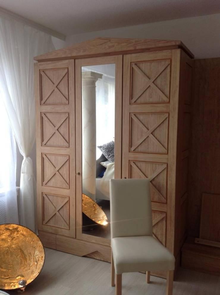 lampen mit blattgold silber strass glas von illusionen mit farbe homify. Black Bedroom Furniture Sets. Home Design Ideas