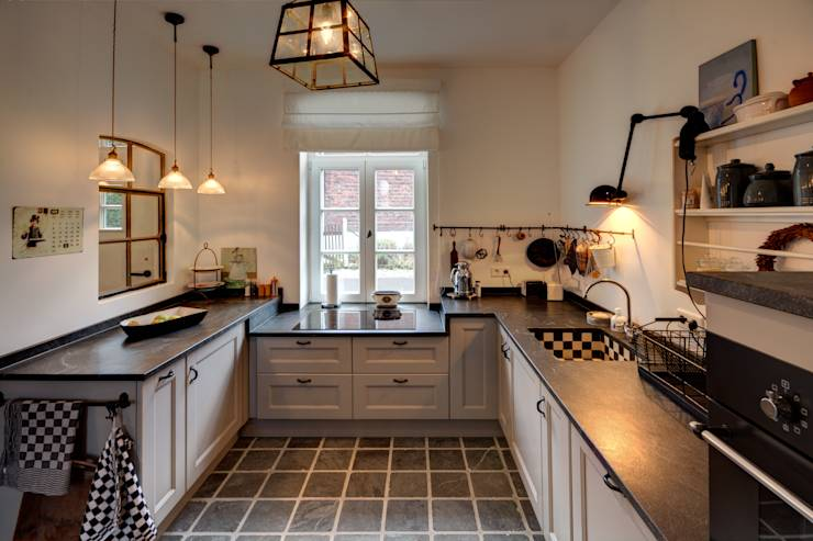 6 geniale ideen f r k chen im retro look. Black Bedroom Furniture Sets. Home Design Ideas
