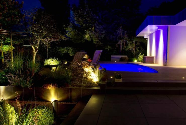 tipps f r eine stimmungsvolle gartenbeleuchtung. Black Bedroom Furniture Sets. Home Design Ideas