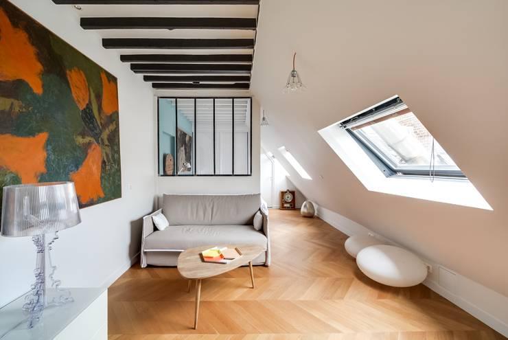 10 magnifiques id es pour un salon moderne for Location appartement avec chambre sans fenetre