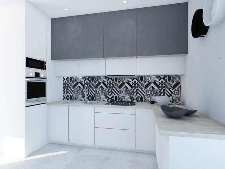Cocinas de estilo moderno de FOORMA Pracownia Architektury Wnętrz