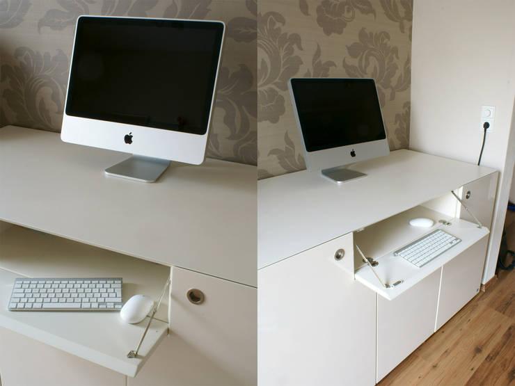 moderne arbeitspl tze einrichten. Black Bedroom Furniture Sets. Home Design Ideas