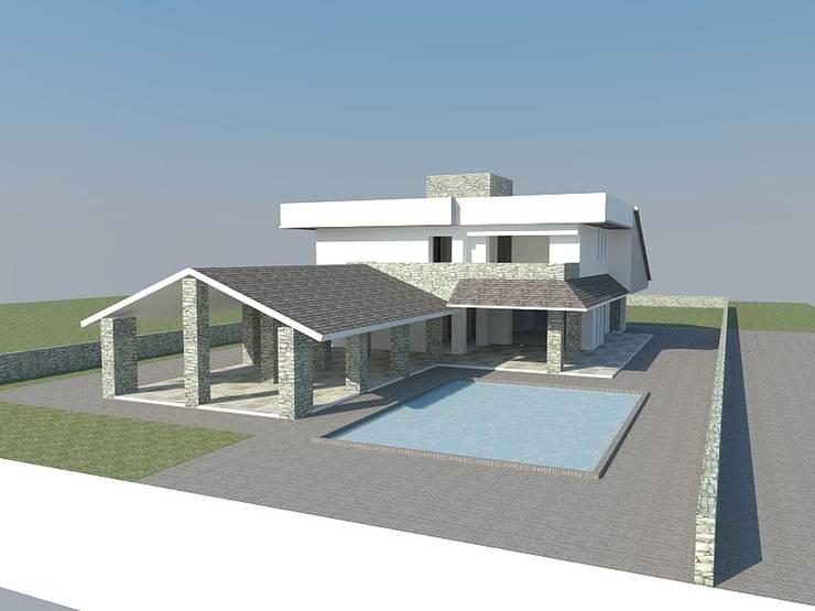 Progetto villa singola di homify for Case progetto villa moderna