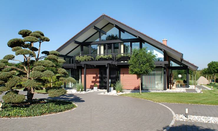 ein modernes fachwerkhaus in hannover. Black Bedroom Furniture Sets. Home Design Ideas