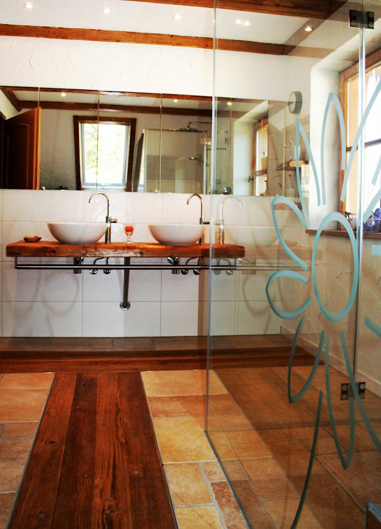badezimmergestaltung von woodesign christoph wei er homify. Black Bedroom Furniture Sets. Home Design Ideas