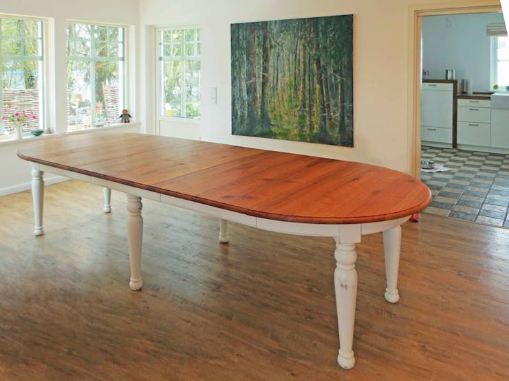 Esszimmer tische von lignum schreinerei gmbh homify for Tisch landhausstil