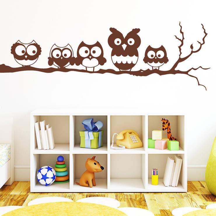 Decorare la casa con gli adesivi murali for Decorare muro stanza