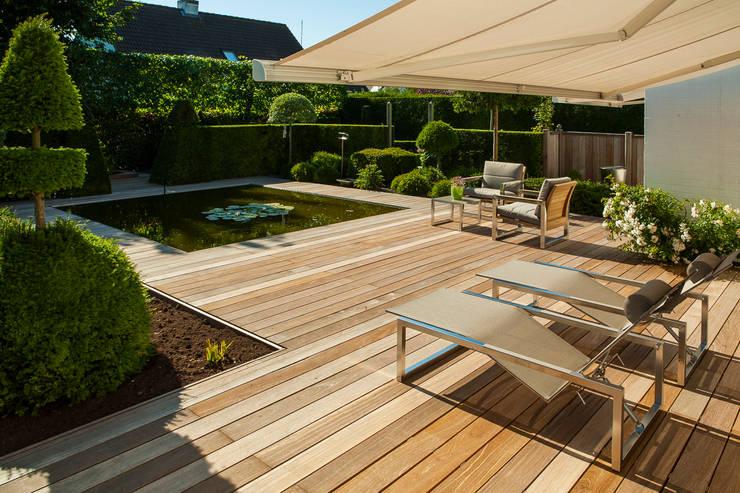 20 fotos de patios espectaculares para inspirarte. Black Bedroom Furniture Sets. Home Design Ideas