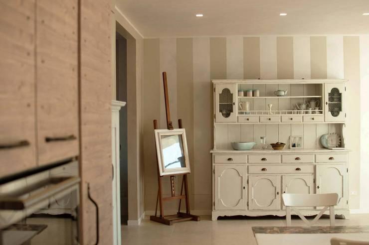 27 interni shabby chic irresistibili da copiare - I mobili della nonna ...