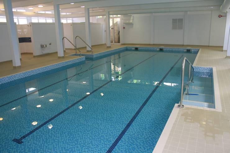 Granard school pool by london swimming pool company homify for Chlorine free swimming pool london