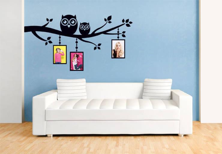 Stencil da parete per far brillare la fantasia sui vostri muri - Stencil per parete ...