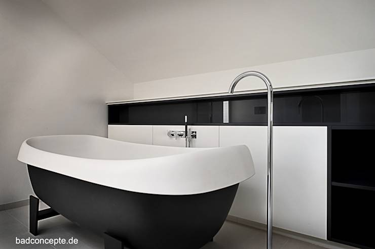 ab in die freistehende badewanne 10 coole designs. Black Bedroom Furniture Sets. Home Design Ideas