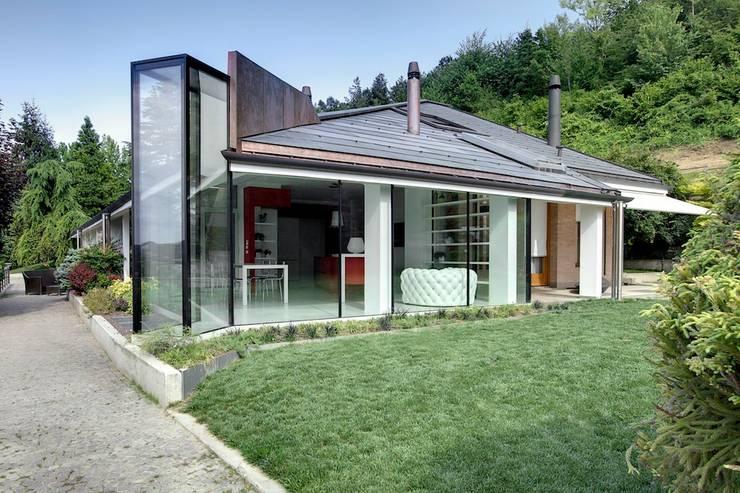 L evoluzione della casa in campagna for Piani di casa in stile ranch contemporaneo