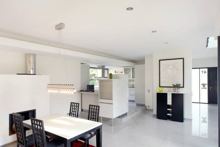 Raffiniertes einfamilienhaus mit klasse for Architekten wohnzimmer