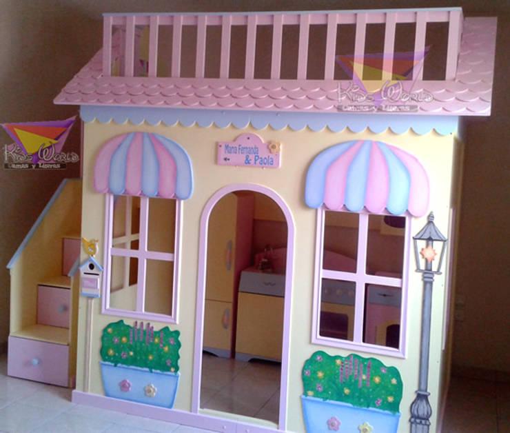 Recamaras para princesas de camas y literas infantiles for Recamaras infantiles